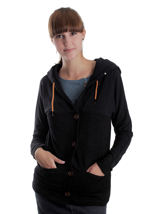 Ragwear - Papaya Black Jack - Girl Zipper