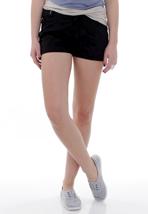 Ragwear - Short High A Black Jack - Girl Shorts