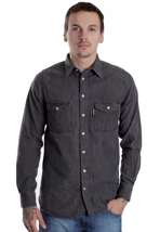 REELL - Hunter Grey Denim Washed - Shirt