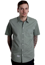 REELL - Short Sleeve Solid Green - Shirt