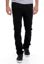 REELL - Skin Power Stretch Rinse Black - Jeans