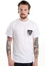 Stick To Your Guns - All Talk No Walk White - T-Shirt