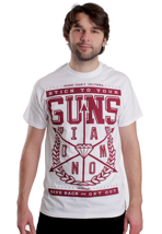 Stick To Your Guns - Arrows White - T-Shirt
