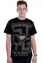 Stick To Your Guns - Block STYG - T-Shirt