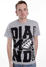Stick To Your Guns - Diamond Block Sportsgrey - T-Shirt