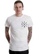 Stick To Your Guns - Life In A Box White - T-Shirt