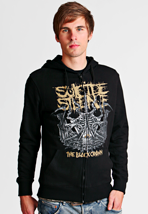 Suicide Silence - Black Crown - Zipper