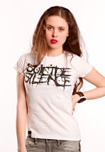 Suicide Silence - Logo White - Girly
