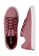Supra - Assault Burgundy/White - Shoes