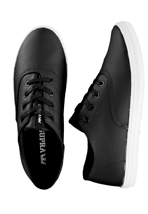Supra - Wrap Black Waxed Twill Black - Shoes