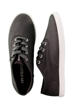 Supra - Wrap Canvas Charcoal - Shoes