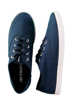 Supra - Wrap Canvas Navy - Shoes