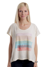 Supremebeing - Fade Block Wash Ecru - Girly
