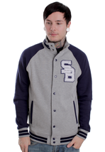 Supremebeing - Kendrick Heather - College Jacket