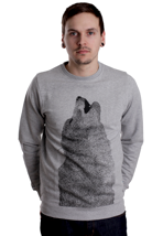 Supremebeing - Lobo Luna Heather - Sweater