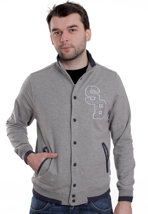 Supremebeing - Pembroke Heather - College Jacket