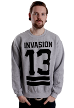 Terror - Invasion 13 Sportsgrey - Sweater