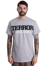 Terror - Involved Sportsgrey - T-Shirt