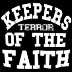 Terror - Keepers Of The Faith Transparent Blue-Splattered - LP