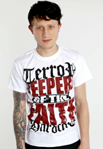 Terror - Keepers White - T-Shirt