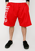 Terror - White Logo Red - Shorts
