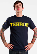 Terror - Overcome Navy - T-Shirt