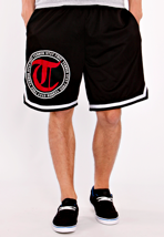 Terror - Striped Circle T - Shorts