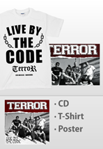 Terror - Live By The Code White - Special Pack