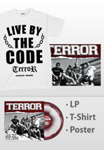 Terror - Live By The Code White Vinyl - Special Pack