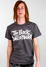 The Black Dahlia Murder - White Logo Charcoal - T-Shirt
