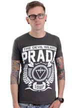 The Devil Wears Prada - Arrow Charcoal - T-Shirt