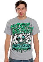 The Devil Wears Prada - Born To Lose Sportsgrey - T-Shirt