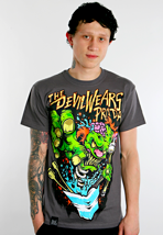 The Devil Wears Prada - Clown Charcoal - T-Shirt