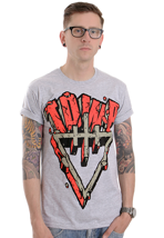 The Devil Wears Prada - Red Smashed Grey - T-Shirt