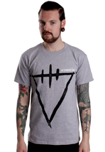 The Devil Wears Prada - Scratch Symbol Grey - T-Shirt