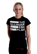 The Dillinger Escape Plan - Flag Logo - Girly