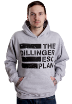 The Dillinger Escape Plan - Flag Logo Sportsgrey - Hoodie