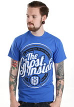 The Ghost Inside - Circle Logo Royal - T-Shirt