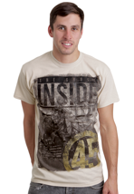 The Ghost Inside - Engine 45 Sand - T-Shirt