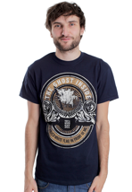 The Ghost Inside - White Flag Blue Navy - T-Shirt