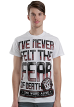 The Word Alive - Fear White - T-Shirt