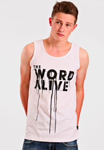 The Word Alive - Logo White - Tank