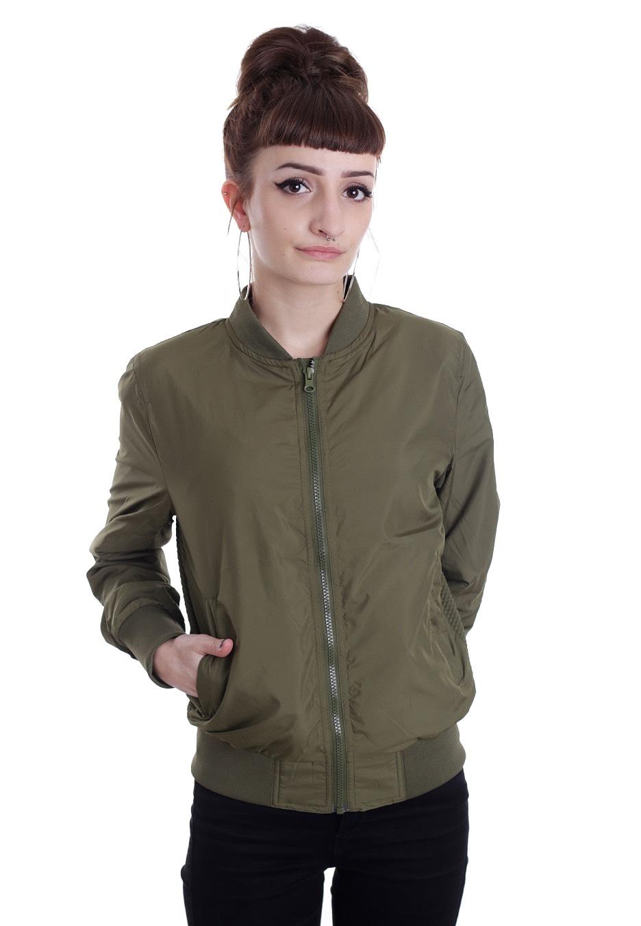 urban classics light bomber olive jacket streetwear. Black Bedroom Furniture Sets. Home Design Ideas
