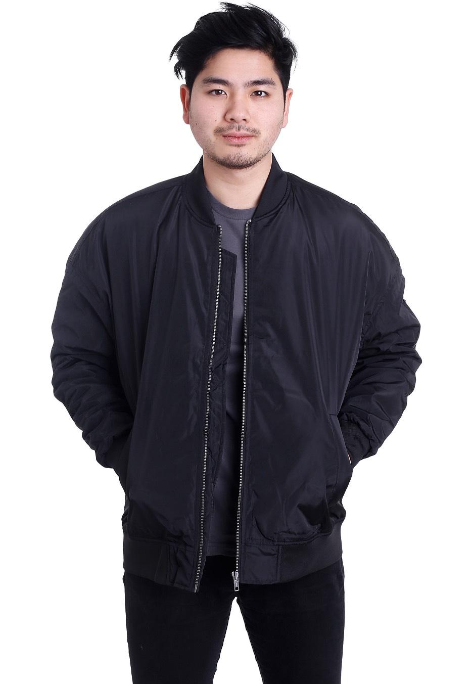 urban classics oversized bomber jacket streetwear shop worldwide. Black Bedroom Furniture Sets. Home Design Ideas