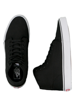 Vans - 106 Hi Black/True White - Shoes