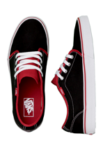 Vans - 106 Vulcanized 2 Tone Black/Chili Pepper - Shoes
