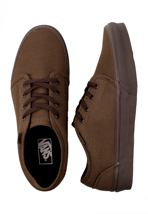 Vans - 106 Vulcanized 10oz Canvas Dark Earth/Coffee Bean - Shoes