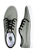 Vans - 106 Vulcanized Pewter/Black - Shoes