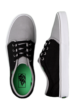 Vans - 106 Vulcanized Wild Dove/Black - Shoes