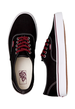 Vans - Authentic Black/Tawny Port - Shoes